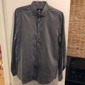 Stone Rose Long Sleeve Button Down Dress Shirt